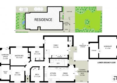 159 Morrison St Putney floorplan