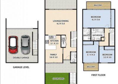 33-1 Forbes floorplan