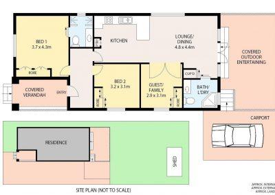 6 Bedford, Georgetown floorplan