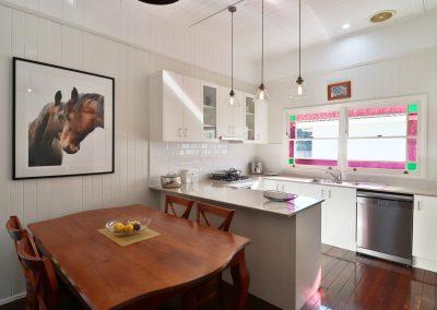Kitchendining area